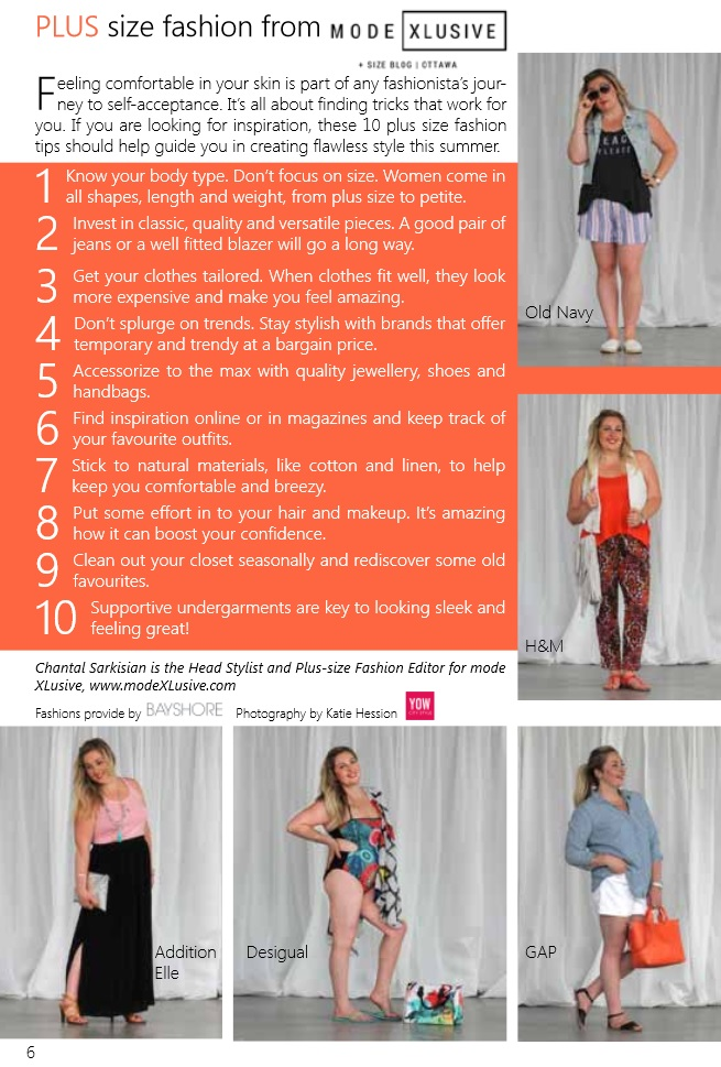 BHBB Summer 2015 Plus Size fashion Style Guide Ottawa Chantal Sarkisian Mode XLusive Chantsy