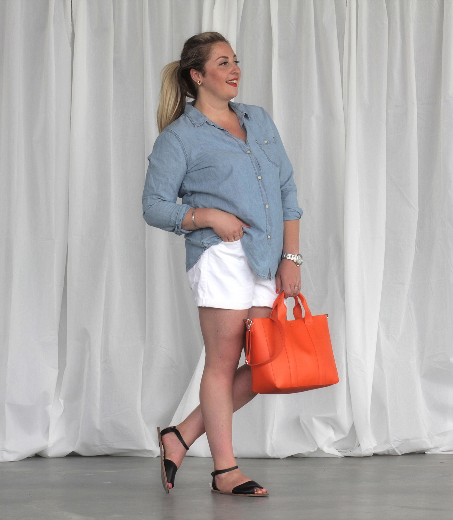 GAP Bayshore Plus Size Fashion Ottawa Fashion blog mode XLusive Chantsy Chantal Sarkisian