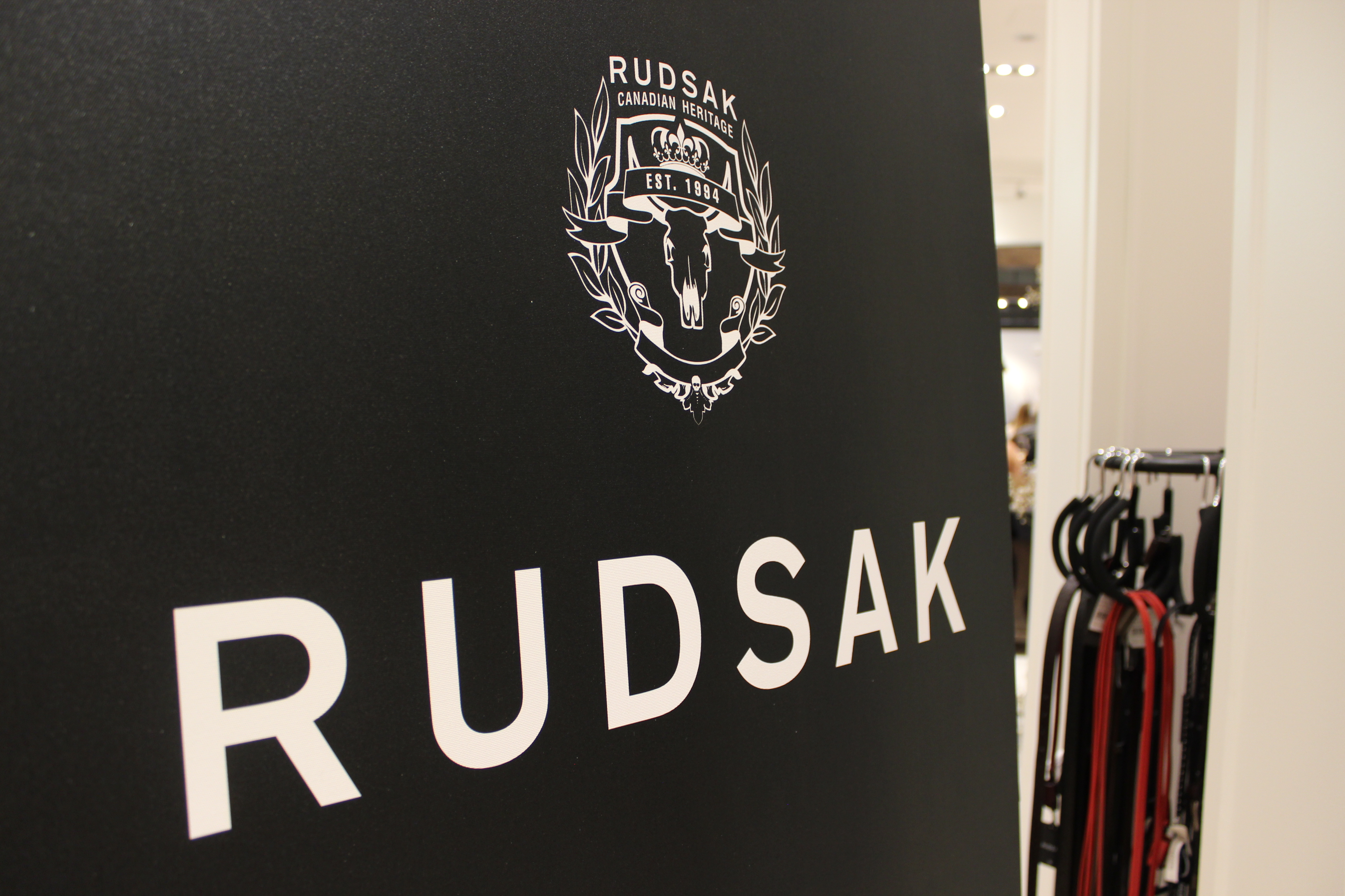 PR Event Rudsak store opening Laval Montreal Chantal Sarkisian Chantsy Mode XLusive Canadian Fashion Blog Blogger Ottawa Toronto RockRudsak Emily Haines Metric