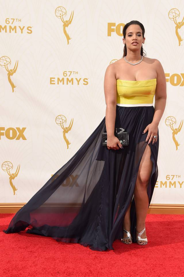 Mode XLusive Canadian Fashion Blog Curvy Dascha Polanco 67 emmys-2015 red-carpet