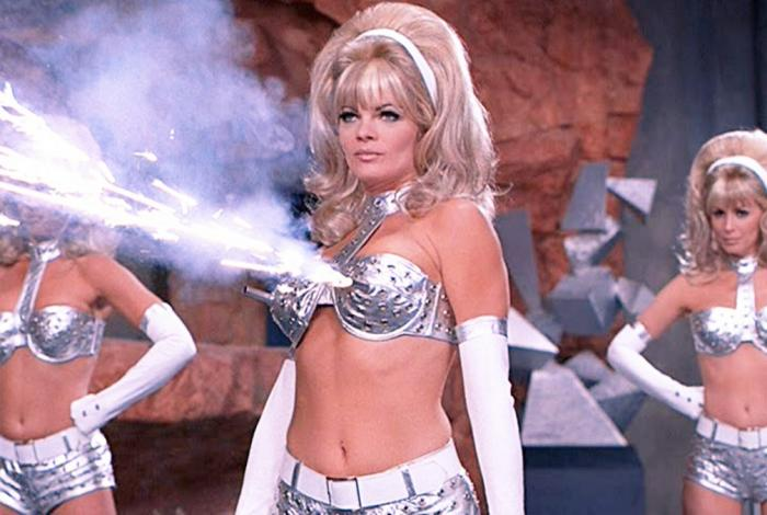 Fembots from Austin Powers.