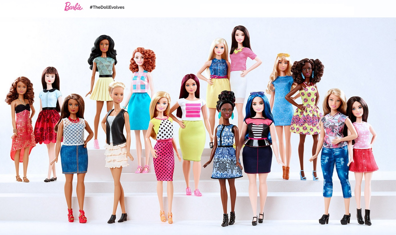 Barbie #TheDollEvolves Curvy Barbie Curvy Fashion Blogger Ottawa Style Blog