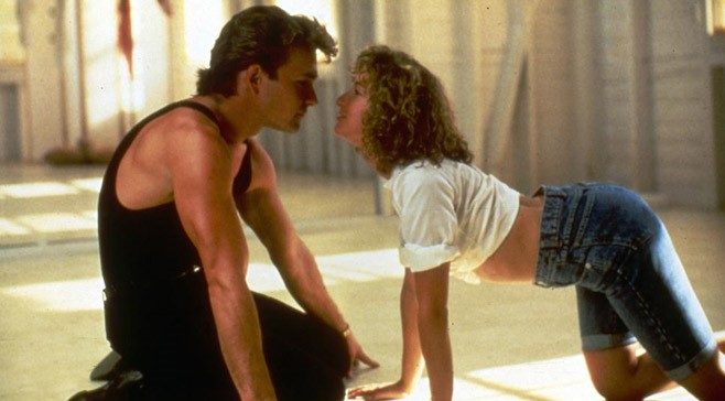 Baby's jeans and white crop top Dirty Dancing