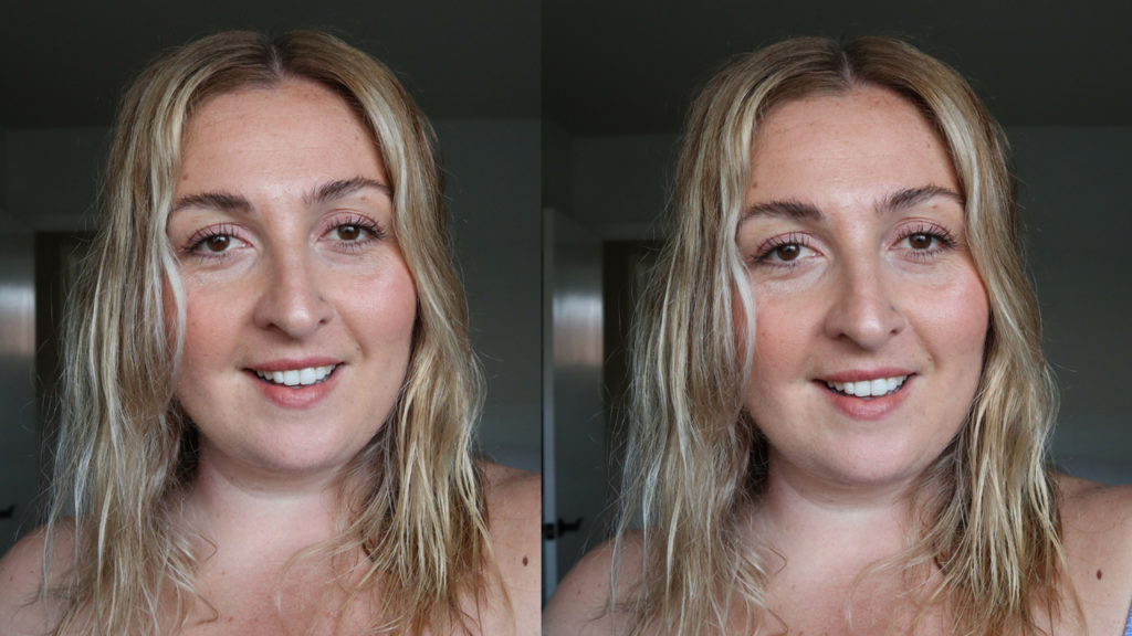 5-minute makeup look for summer using Glossier Lid star